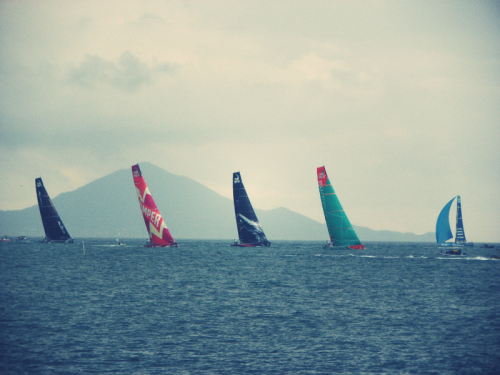 Itajaí in-port Race. (by Bruno Bianchini)