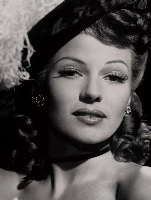 Rita Hayworth photographed for Tonight and Every Night (1945)
