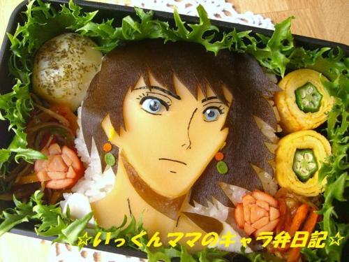animefilms:  Howl's Moving Castle bento