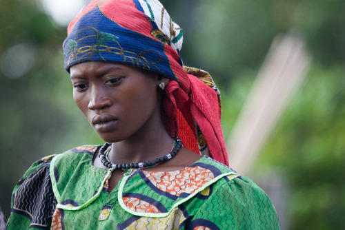 Portrait of a Woman, Democratic Republic of the Congo by United Nations Photo on Flickr.
