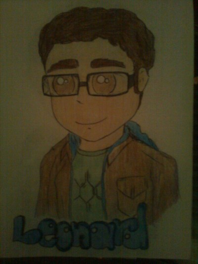 I draw it :) #leonard #thebigbangtheory :D