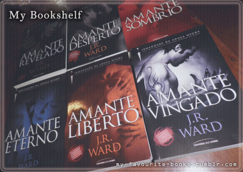 Black Dagger Brotherhood, by J.R. Ward (Brazilian Beautiful Covers)