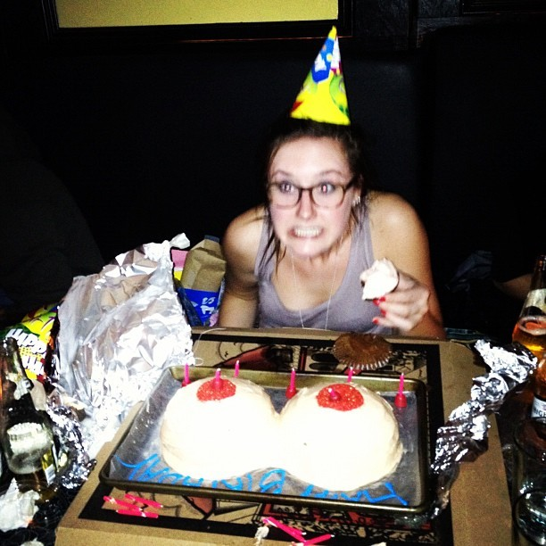 #birthday #tits (Taken with instagram)