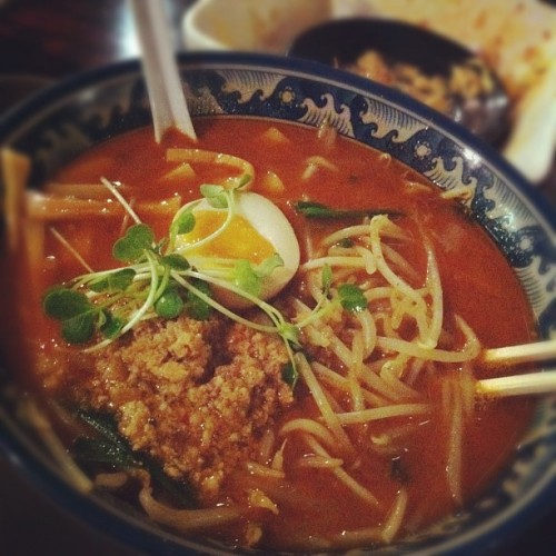 Spicy #foods #japanese  @oemkhoa  (Taken with Instagram at Kahoo Ramen)