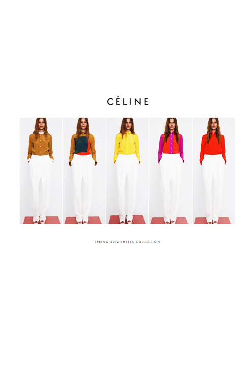 ahnini:  Céline   Best ad campaign of late.