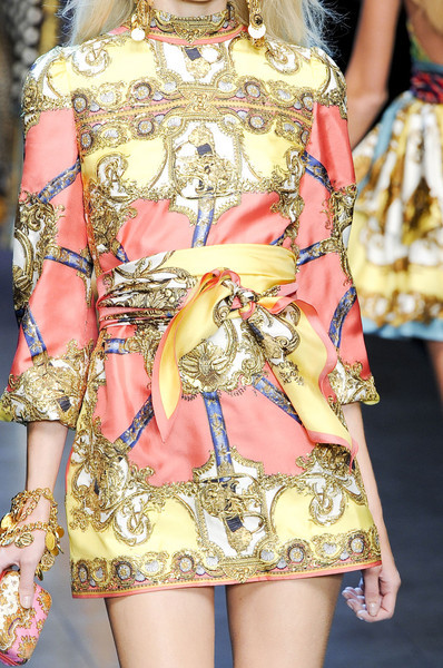 aclockworkpink:  D&G S/S 2012, Milan Fashion Week