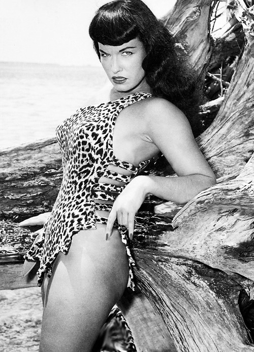 Bettie Page by Bunny Yeager 1954. Happy Birthday (April 22nd 1923-December 11th, 2008)