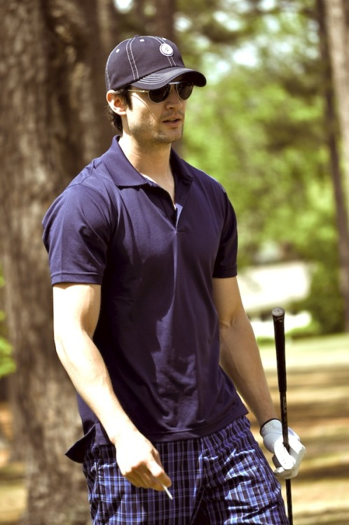 James Lafferty Nicholas Sparks Celebrity Golf Tournament 4/21/12