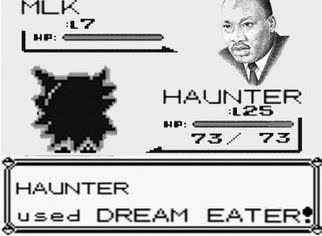 slyfoxhound:  LOLOLOLOL OH HAUNTER YOU NEVER STOP EATING THEM DREAMS! xD