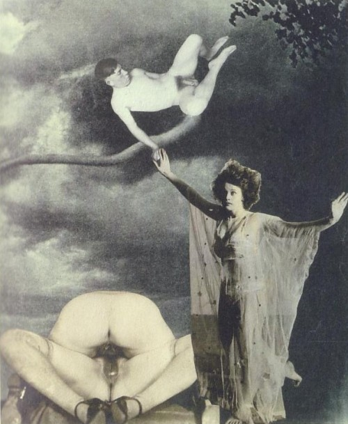 Emilie vient à moi en rêve (Emilie comes to me in a dream) by Jindřich Štyrský, 1933 Also