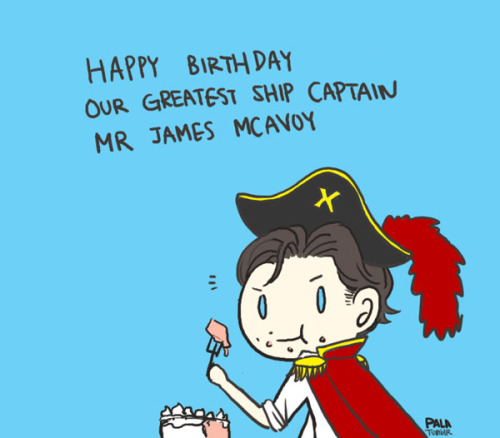 palalife:  Fangirls all aboard! Happy Bday James. (I wasn't going to draw anything be/c I am having almost live or die situation with all the projects and school works right now I think my knuckles are kind of swollen uhha, but then took a 5 minute break)