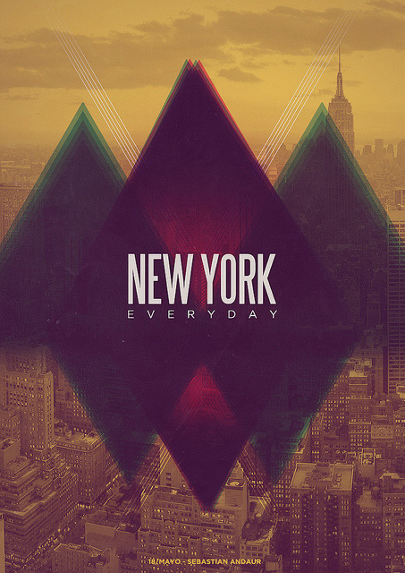 New York by Sebastián Andaur / http://work.andaurstudios.cl + on Flickr.
