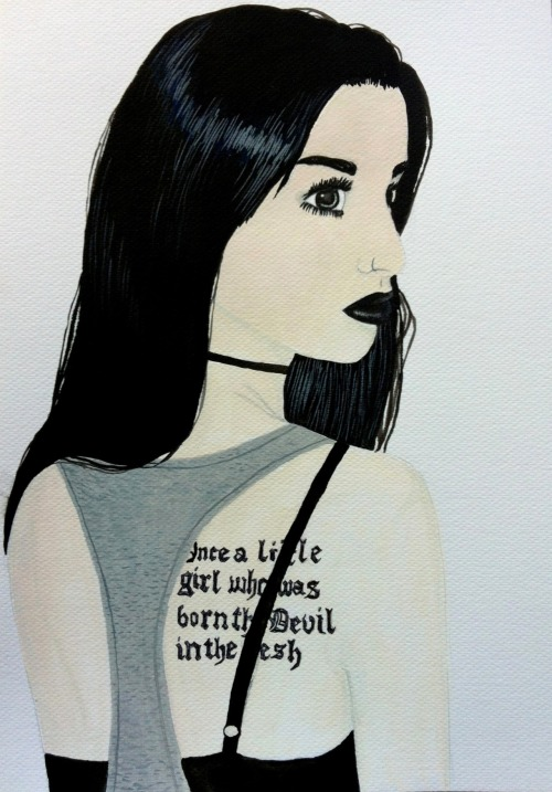 A quick painting I did last night of Felice Fawn. I rushed it a bit though because I was sleepy, so it didn't really turn out looking exactly like her haha >.<