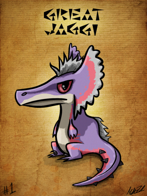 #1 - Great Jaggi Started a Monster Hunter: Hunt Sketch Diary since I started back into Monster Hunter Tri. I'm close to finishing offline quests, but i've got several of the monsters sketched out. I'll be doing them in the order in which I beat them in-game. :)