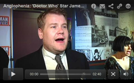 "Anglophenia interview with James Corden on opening night of One Man, Two Guvnors (Video)  British comic star and TV personality James Corden (Gavin & Stacey, Doctor Who) has now made a return to Broadway in the comedy One Man, Two Guvnors — and U.S. critics are very impressed. ""Splendidly silly"" are the words used by the New York Times in its assessment of the play. The Associated Press describes Corden flatteringly as ""the king of fools on Broadway."" The New York Daily News asks: ""Can we keep James Corden in New York for good?"" Although the play has been a big hit in London, there were some concerns that this British slapstick farce, inspired by an 18th Century Italian comedy called Servant of Two Masters, wouldn't resonate with Americans But judging by the laughter at a recent preview performance, Americans audiences are loving every minute of it. Shortly after the curtain came down on opening night I asked Corden for his take on his Broadway debut — and what he made of all the talk of a possible Tony nomination.  Click through for the video"