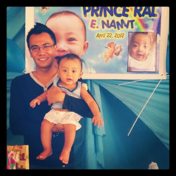 Ninong Lan and Prince Ral. (Taken with instagram)