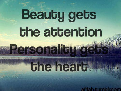 So be beautiful inside and out.