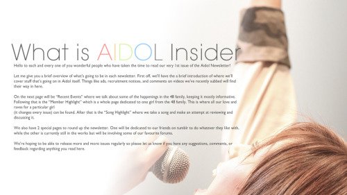 aidolinsider:  Aidol Insider Volume 1. Download in full HD resolution here