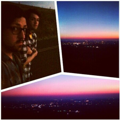 Rocky hill sunset. #boyfriend (Taken with instagram)