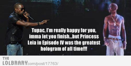 Tupac gets Kanye'dFollow this blog for the best new funny pictures every day