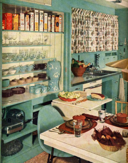 Kitchens of the 1950s By Multiple Authors, housebeautiful.com Get a blast from the past with 15 of our favorite kitchens from the era of T-birds and poodle skirts. See more of our best kitchens here, then take a look at kitchens from the '60s, '70s, '80s, and '90s.
