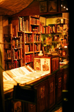 criedalice:  Bookstore by princia on Flickr.