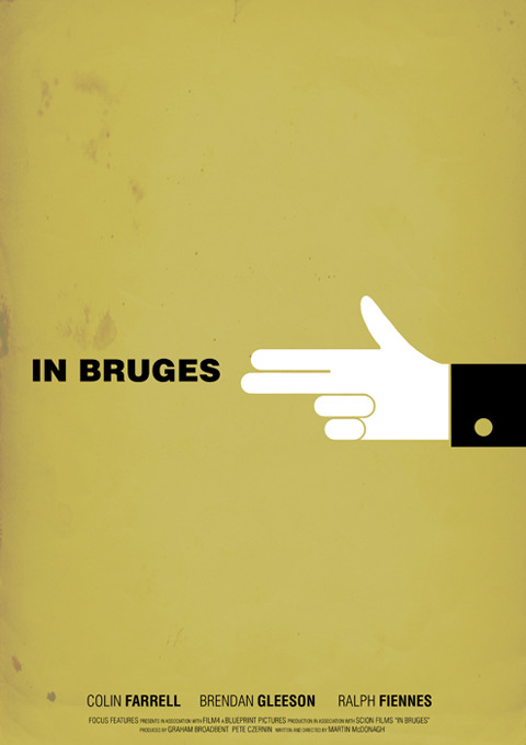 minimalmovieposters:  In Bruges by Aldous Massie malcolm-rex's request