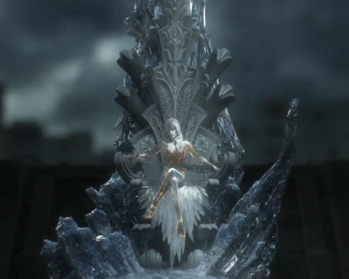 saveroomminibar:  Final Fantasy XIII-2. Lightning on the Throne of Etro.