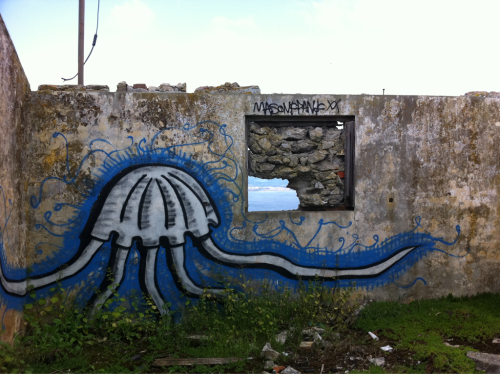 I don't think you're ready for this jelly. More graffiti in Gibraltar.