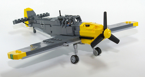 Messerschmitt Bf 109 (by LegoUli)