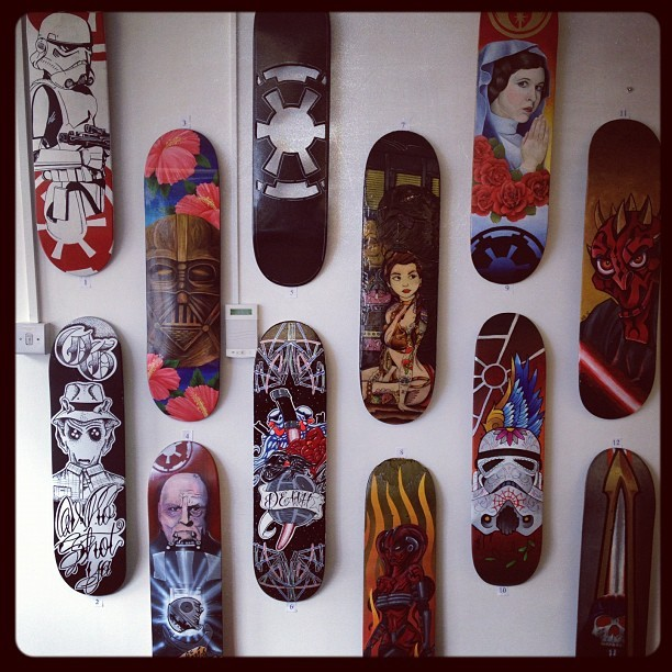 Starboards #starboards #physicalgraffiti #starwars  (Taken with Instagram at Physical Graffiti)