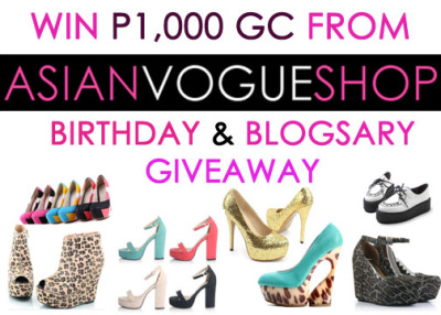 abylovinu:  Everyone has the chance to win worth P1,000 GC from ASIAN VOGUE. CHECK THIS OUT FOR MORE DETAILS!