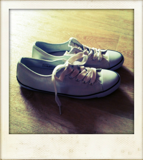 New shoes again…