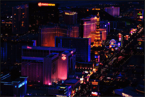 The naughtiest lights on the planet, I have to go to Vegas one day.