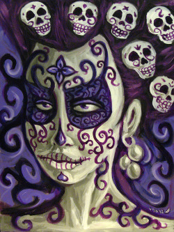 Day of the Dead painting 2