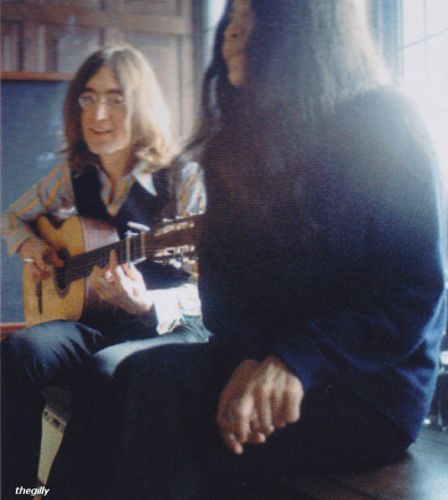 John and Yoko at Kenwood, 1968.