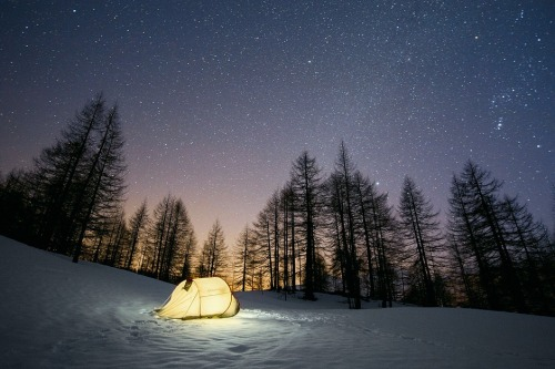 Pointing the stars by Marco Bottigelli