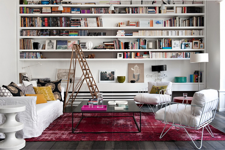 (via design attractor: Gorgeos Eclectic Modern Apartment in Paris)