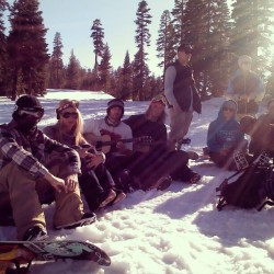 thesnowtriangle:  amazing crew