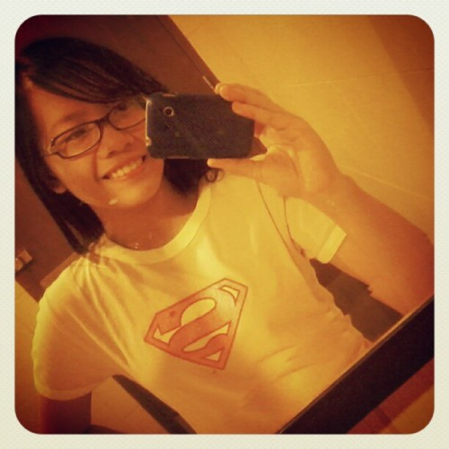 #SuperGirl :) (Taken with instagram)