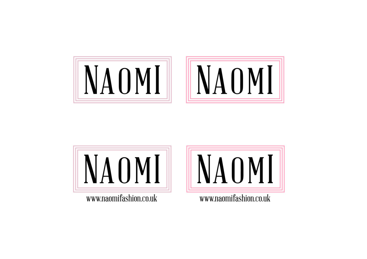 Logo Design for a up and coming fashion label - Naomi