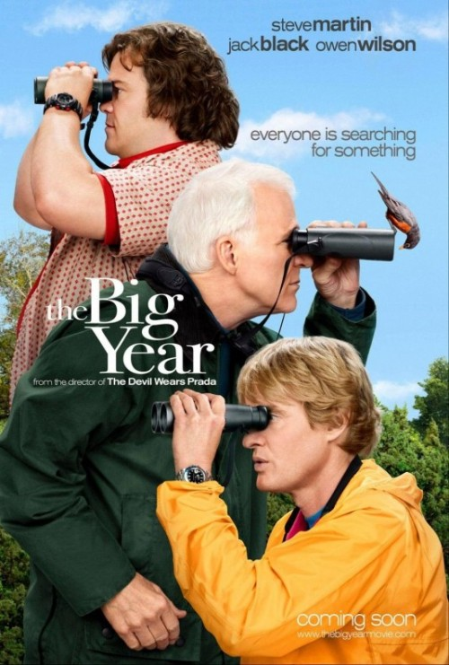 MONDAY AT THE MOVIES! THE BIG YEAR David Frankel 2011 ••••