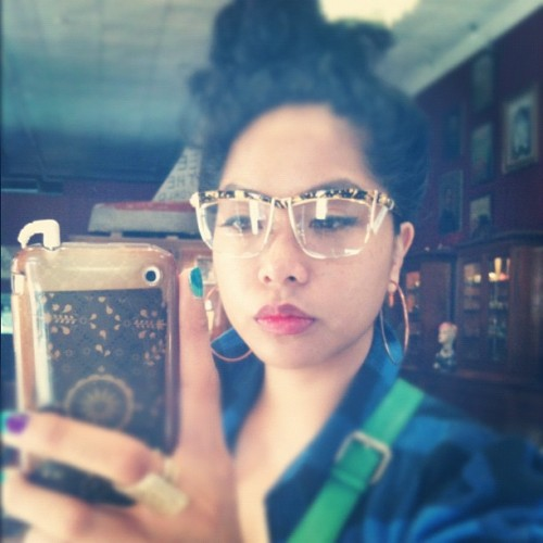 Vintage dior frames…kinda really want them. Lol @inezgalvez #fresh (Taken with instagram)