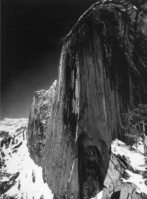 Monolith, the Face of Half Dome Yosemite National Park Photo: Ansel Adams