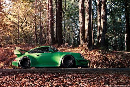 automotivated:  Mark Arcenal's RWB Porsche 911 (by Nike SB'd)
