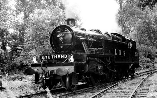 dailytrain:  Steam Locomotive 2500, Bressingham Gardens by JohnBurke on Flickr. Click for your Daily Train
