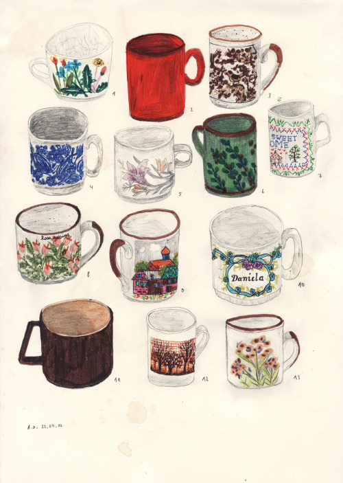 angeladalinger:  my 13 cups