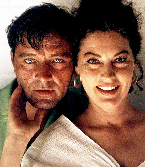 Ava Gardner and Richard Burton on the set of The Night of The Iguana, 1964.