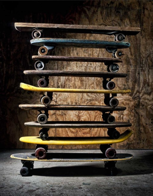hip-hop-hippie:  vintage skateboards. so awesome.