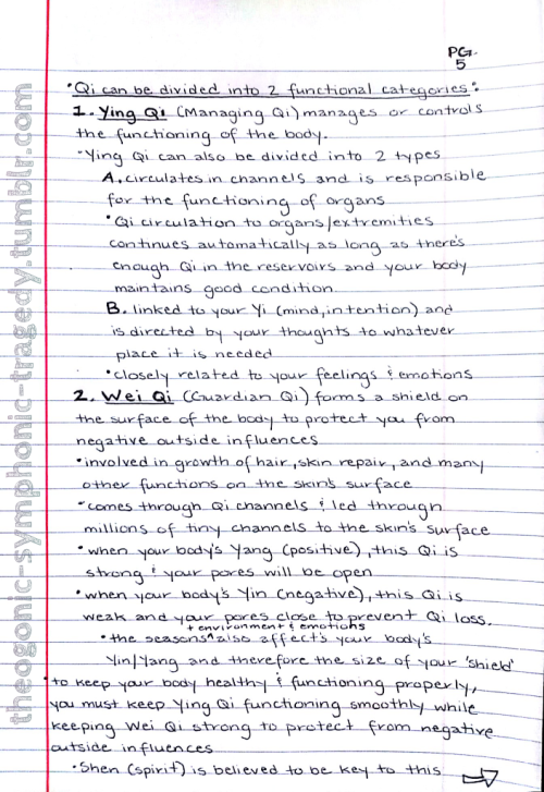 Qigong notes - pg. 5